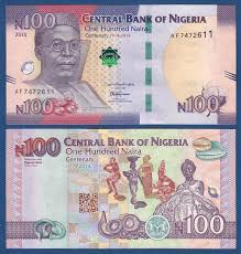 Image result for 100 naira note new