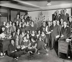 the holiday office christmas party oldschoolcool the holiday office christmas party 1925