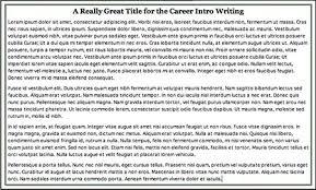 career exploration essay career exploration essay   anti essays