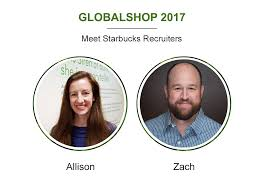 starbucks linkedin heading to globalshop 2017 tomorrow two of our starbucks store design recruiters will be there 28 30 and want to meet you