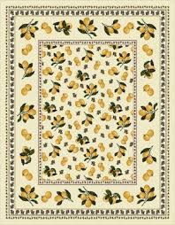 Лимоны <b>Скатерть</b> 140х180 см 0095 - Испанский текстиль