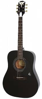 <b>Акустическая гитара EPIPHONE PRO-1</b> Acoustic Ebony