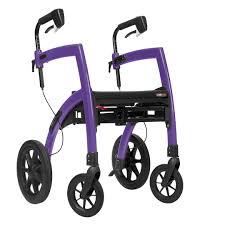 finance deals on rollz motion all in one rollator rollz motion all in one rollator wheelchair limited edition purple image