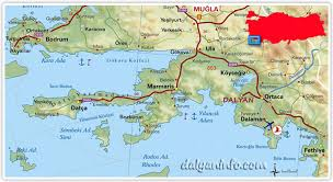 Image result for dalaman map