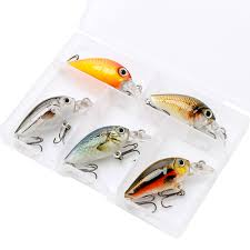 VTAVTA <b>5pcs</b>/lot <b>Mini</b> Wobblers Pike Fishing Lure Set 3.5cm 4g ...