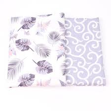 2018 Selling 40x50cm Leaves Pattern <b>DIY</b> Doll Cloth Cotton Fabric ...