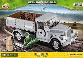 Армейский грузовик Opel Blitz с двумя ... - Конструктор COBI