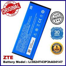 <b>Original Battery</b> ZTE <b>Li3824T43P3hA04147</b> ZTE V5S N918ST ...