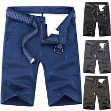 <b>Mens Summer</b> New <b>Simple</b> Fashion Pocket Shorts Comfortable ...