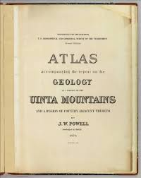 title page atlas accompanying the report on the geology uinta title page atlas accompanying the report on the geology uinta mountains