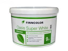 <b>Краска в/д д</b>/потолков <b>FINNCOLOR Oasis</b> Super White ...