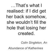 An Abundance of Katherines on Pinterest | John Green, John Green ...