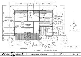 Japanese Traditional House Plan TEA HOUSE Drawing Building Detail    Categories  House Plan  middot  Model