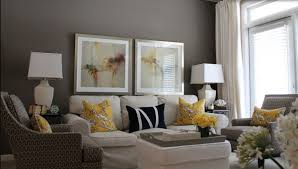 living room ideas grey small interior:  pictures hold on gray living painted added white slipcovers  seater couch and white upholstery ottoman coffee table in small grey living room ideas