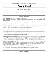 banquet chef resume example 1 banquet captain resume