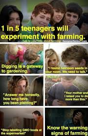 The Art Of The Rural: Is Your Child A Farmer? Know The Warning Signs. via Relatably.com