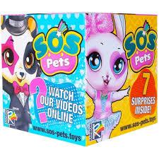 """Купить фигурку FANCY <b>SOS</b> Pets <b>Фигурка</b>-<b>сюрприз</b> """"<b>Милые</b> ..."""