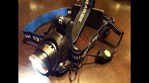 2500lm zoomable CREE <b>LED XM</b>-<b>L T6</b> Headlamp - YouTube
