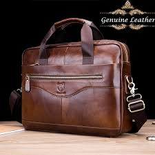 2019 100% <b>Genuine Leather Men Genuine Leather</b> Business ...