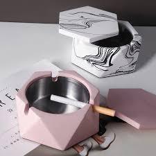 <b>Nordic</b> ins wind <b>creative living room</b> household ashtray with lid ...