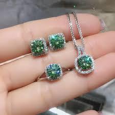 <b>KJJEAXCMY fine jewelry</b> natural Mosang Diamond 925 sterling ...