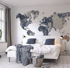 Cool Map Mural See Various Wall Mural Designs At Httpwww - Bedroom wall murals ideas
