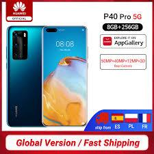 DHL Free Ship <b>Global Version Huawei P40</b> Pro 5G 8GB 256GB ...