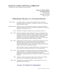 sample orthodontic dental assistant resume general dentist cv back to post sample orthodontic dental assistant resume
