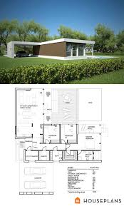 Small modern house plans  Small modern houses and Modern house    Small Modern House Plan and Elevation sft Plan