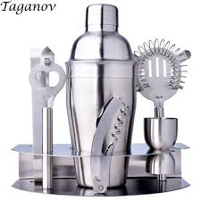 <b>7 Piece Bar Set</b> Cocktail Shaker wine Bartender Tools Set cocktail ...