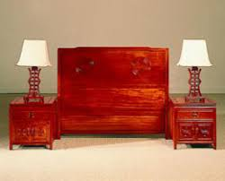 rosewood headboard nightstands chinese bedroom furniture