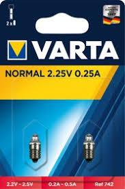 00742, Лампа для <b>фонаря</b>, аргон, 2.25<b>В</b>, 0.25А, 2шт.блистер ...