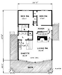 House Plan at FamilyHomePlans comA Frame Cabin Contemporary House Plan Level One