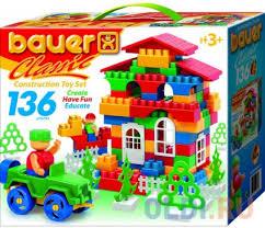 <b>Конструктор Bauer Classic</b> 136 элементов — купить по лучшей ...
