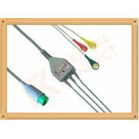 Fukuda Denshi ECG Patient Cable 3 Leads Snap IEC Insulated for ...