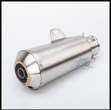 <b>Universal 36</b>-<b>51mm</b> Inlet Motorcycle <b>Exhaust Mufflers</b> with...