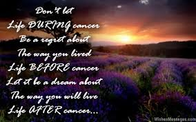 Inspirational messages for cancer patients | WishesMessages.com via Relatably.com