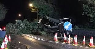 A390 still closed after <b>Storm</b> Ciara brings down tree and <b>power</b> ...