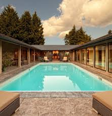 Best Ideas For U Shaped Home Design   YourAmazingPlaces comcontemporary pool