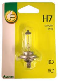 Купить <b>Лампа автомобильная</b> Auchan <b>H7 55W</b> 12В, 1 шт с ...