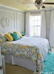yellow and gray bedroom: blue yellow gray room bing images