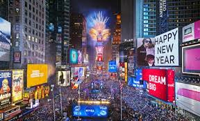 Having a ball: The history behind American New Year