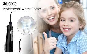 VLOXO <b>Water Flosser</b> Professional Cordless <b>Electric</b> Dental Oral ...
