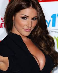 Lucy Pinder was discovered by the Daily Star on Bournemouth beach seven years ago. Lucy Pinder is rested and raring to go again - 144929_1