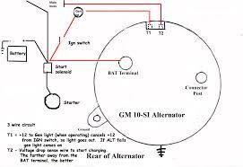 wiring diagram for alternator the wiring diagram gm 10si alternator wiring issues the h a m b wiring diagram