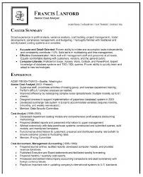 analyst resume samples resume format  resume