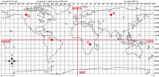 Resultado de imagen de sistema coordenadas geográficas