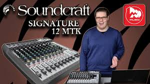 <b>SOUNDCRAFT</b> SIGNATURE 12MTK - <b>микшерный пульт</b> с ...