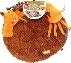 Лежак для животных <b>GiGwi Snoozy Friendz</b> Жираф, 75416 ...