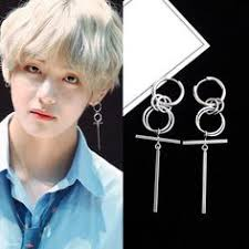 <b>Hfarich</b> earrings long bangtan boys v dna stud earring men kpop ...